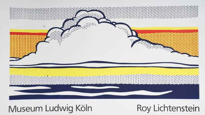 Roy Lichtenstein - Cloud and Sea - Museum Ludwig