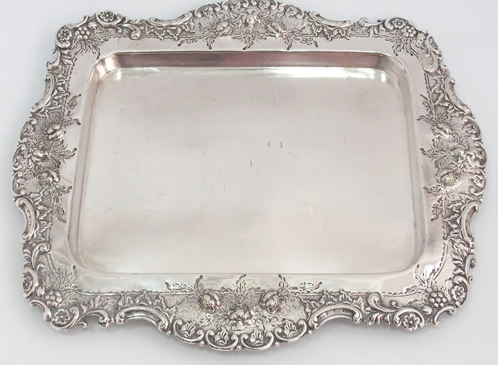 Maxfield & Sons Decorative Serving Tray, England