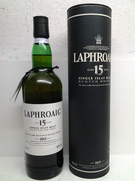 Laphroaig 15 years old - discontinued