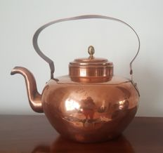 Antique copper apple kettle - Holland - early 19th century