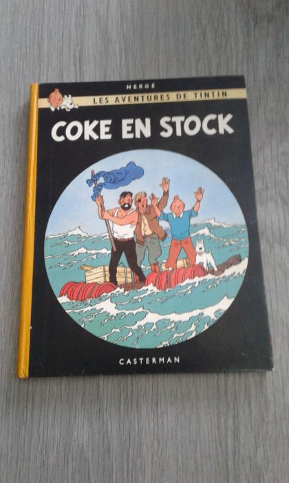 Tintin T19 - Coke en stock B26 - Hardcover - Reprint - (1958)