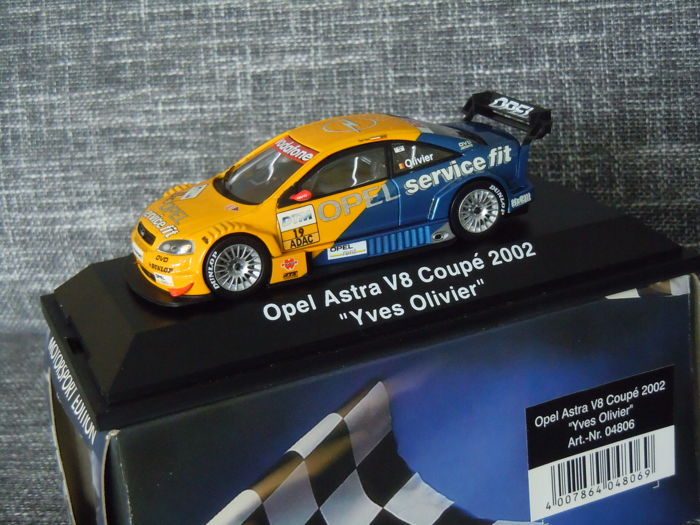 "Schuco - 1:43 - Opel Astra V8 Coupe 2002 ""Yves Olivier"""