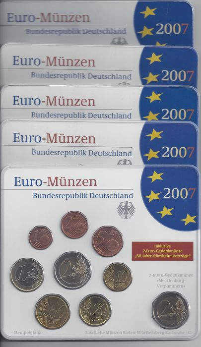 Germany - Euro 2007 A-D-F-G-J