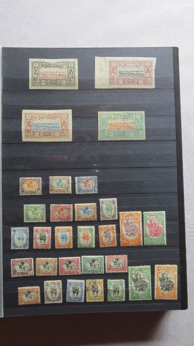 France - Colonies (general issues) - Advanced collection Côte des Somalies.