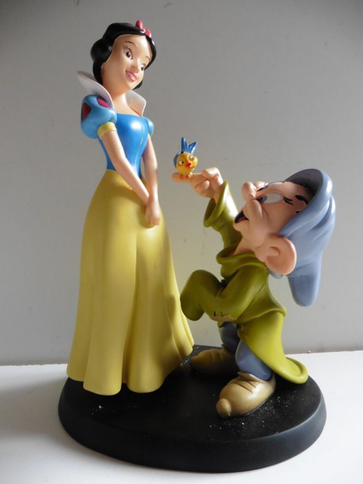 Disney - Snow White & Dopey - 1 Figurine (2014)