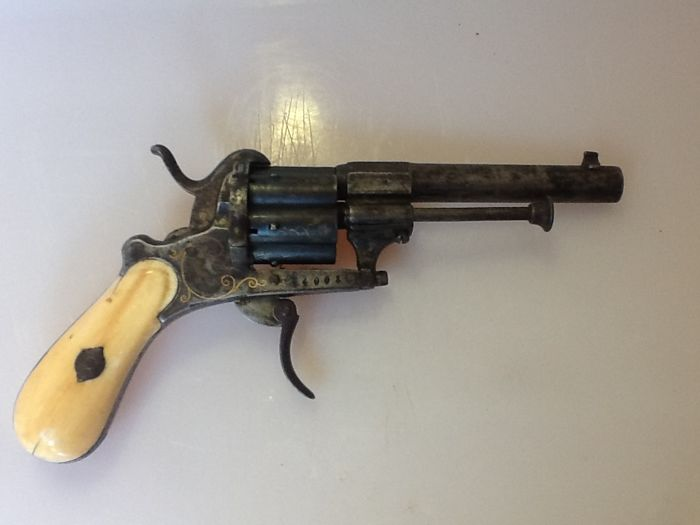 Pin Fire Revolver Type Lefaucheux