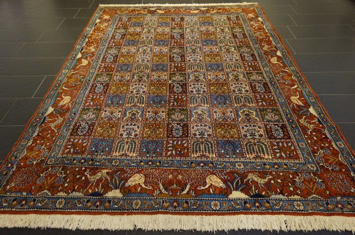 Fields Moud with silk Iran 195X285cm