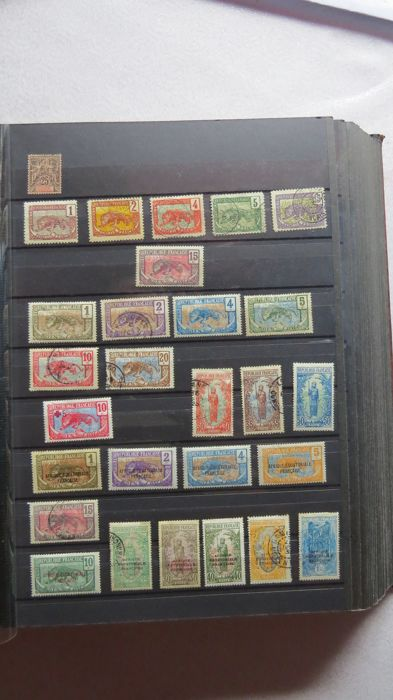France - Colonies (general issues) - Congo, Senegal, Ivory Coast, Mauritania, Cameroon