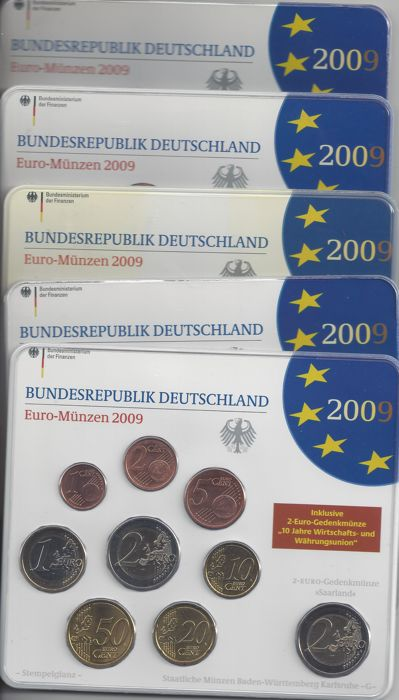 Germany - Euro 2009 A-D-F-G-J