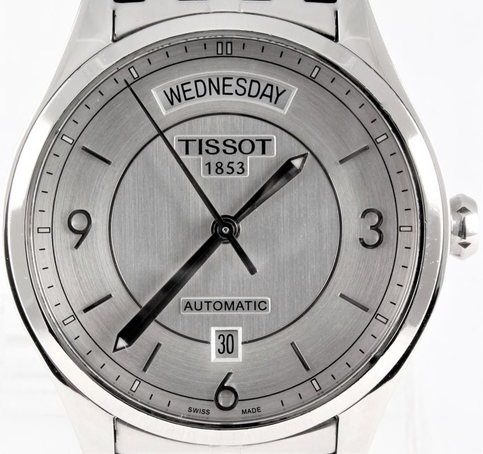 Tissot - T-One Automatic Day-Date - NO RESERVE! - Swiss ETA automatic - Ref. No T038.430.11.037.00 - Men - 2011-present