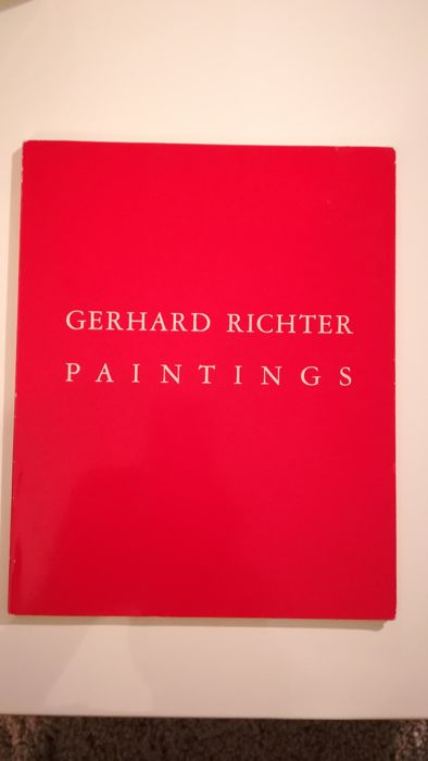Signed; Gerhard Richter - Paintings - 1987