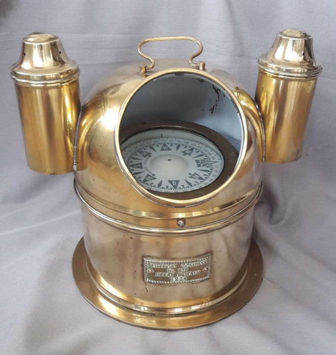 Nautical compass - large compass in beautiful compass encasing