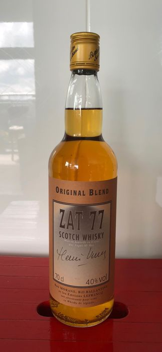 ZAT 77 Bob Morane Whisky - 1 of 100 bottles