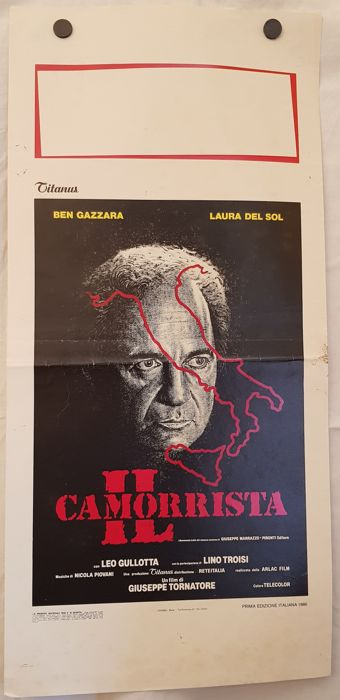 IL CAMORRISTA - 1986 - BY GIUSEPPE TORNATORE