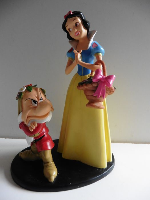 Disney - Snow White & Grumpy - 1 Beeldje (2014)