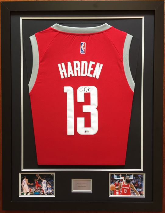 the latest a2ed6 d9743 Very rare - James Harden (NBA MVP 2018) Houston Rockets ...