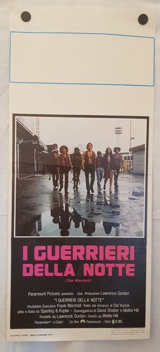 I GUERRIERI DELLA NOTTE - 1979 -  (The Warriors)