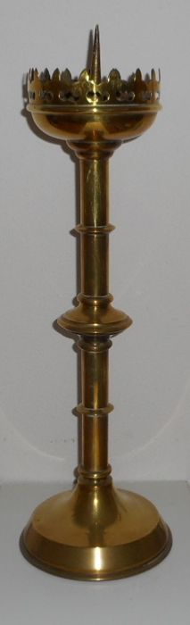 Antique church candlestick.