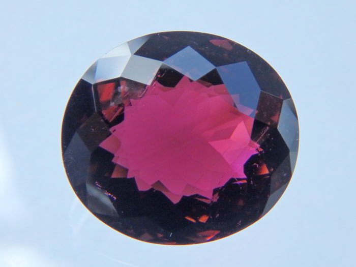 Rubellite Tourmaline- Purplish Pink - 6.71 ct