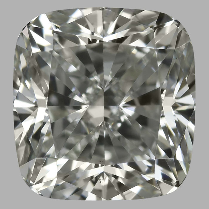2.50 ct Beautiful Cushion Cut Diamond GVS1  Serial# 836-original-image-10X