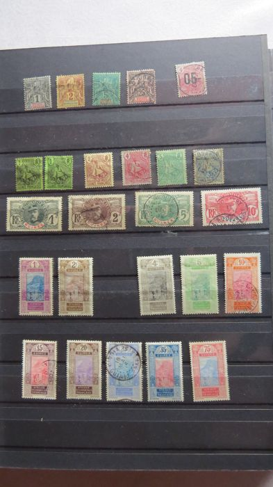 France - Colonies (general issues) - Guinea, Chad, Togo, Sudan, Niger, Hte Volta