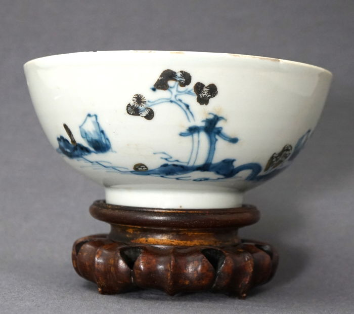 """The Nanking Cargo"", Christie's - Large bowl with Imari decorations - China - 1752"