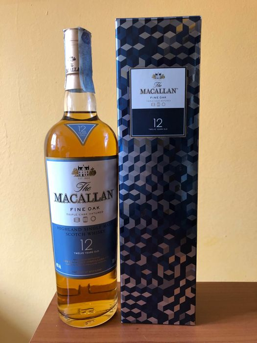 Macallan 12 years old Fine oak triple cask matured vintage box (bottled 2009)