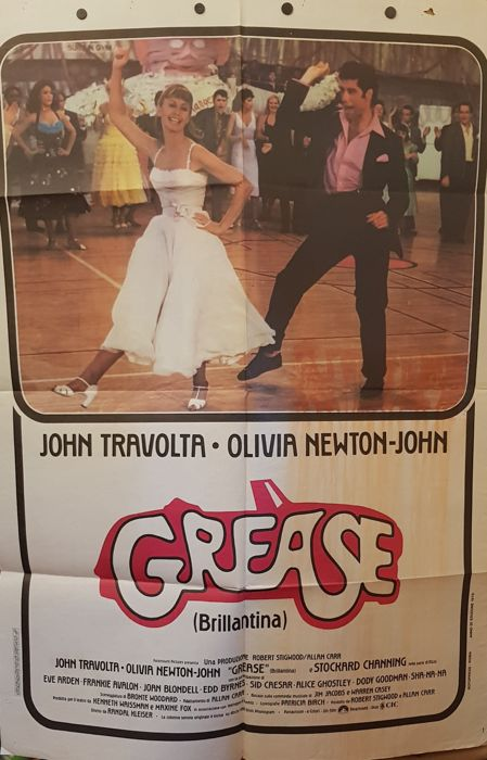 GREASE - 1978 with John Travolta e Olivia Newton Jones