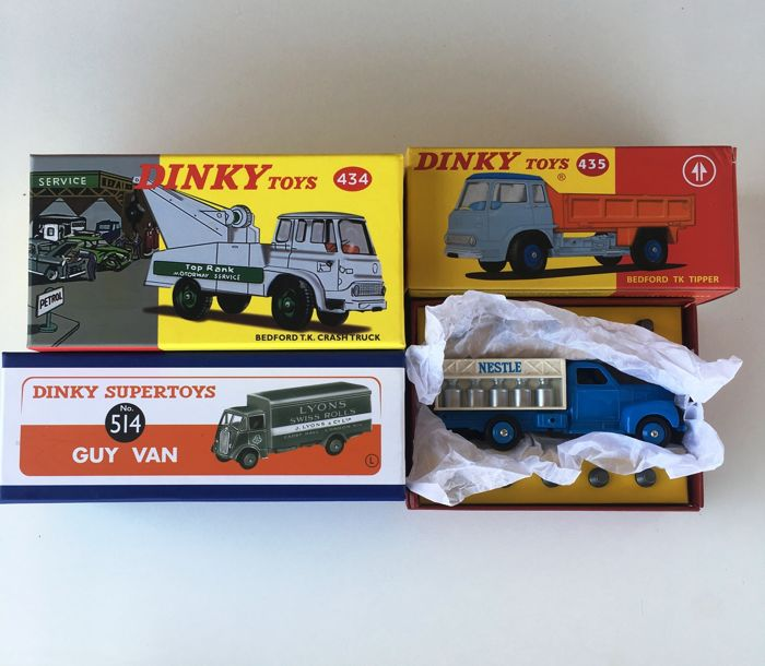 Dinky Toys - 1:43 - Atlas Lot 4 Models