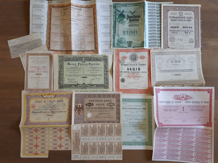 1 1x Banks 1880 1969 Banco Central Mexicano Banque Russo Catawiki