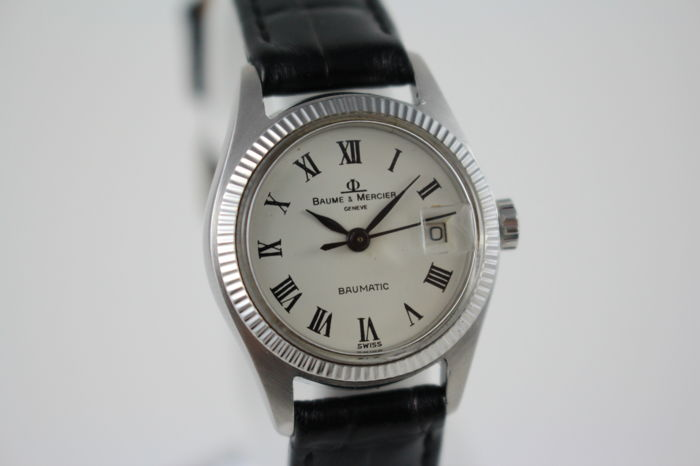 Baume & Mercier - Vintage Baumatic Automatic Ladies Wristwatch - Women - 1970-1979