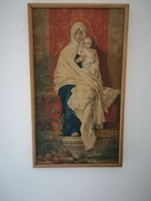Madonna d'Erbia painting