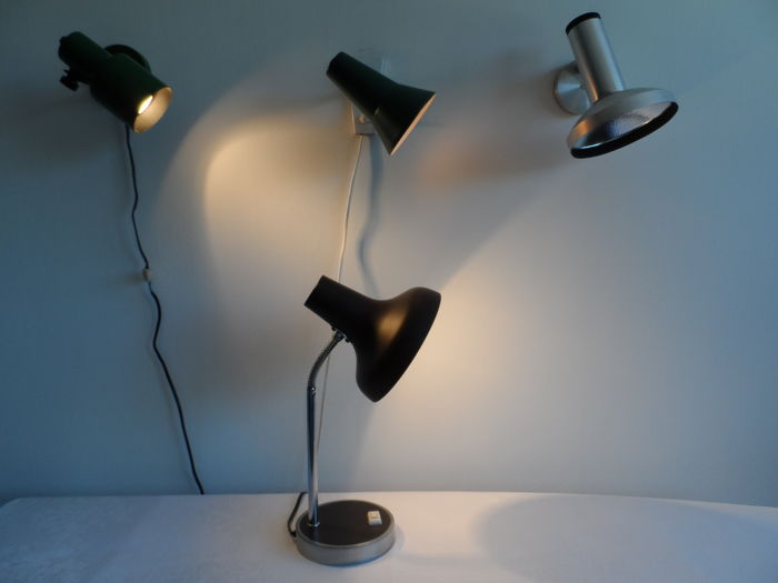 o.a. Philips - Vintage lampen