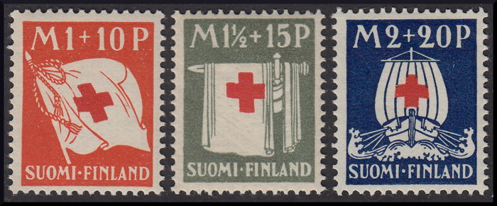 Finland 1930/1939 - Collection of new pieces from 1930 to 1939 - Unificato 156/213