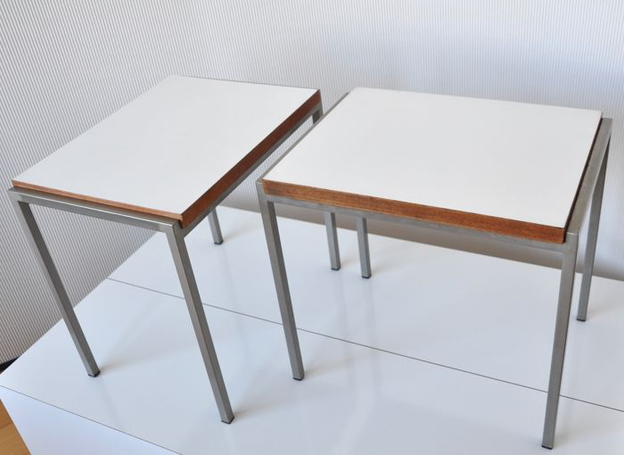 Cees Braakman for UMS Pastoe - Two side tables 'Japanese series'