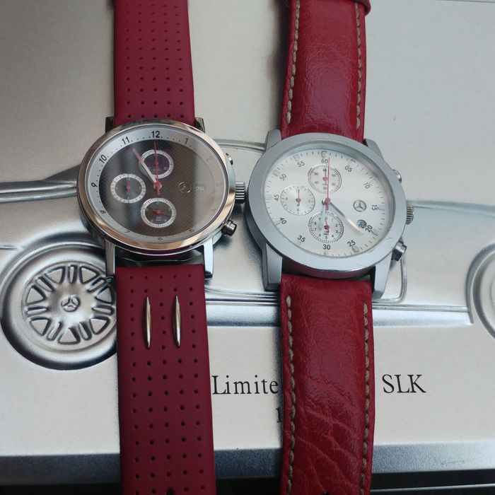 Watch - Complete set Mercedes Benz SLK Limited edition - 2004-1996 (5 items)