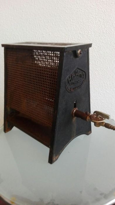 Cast iron industrial stove Hagam 1950