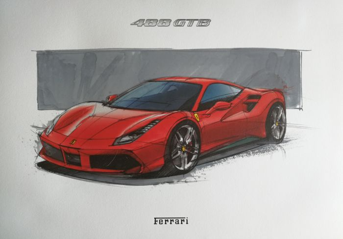 Poster - Ferrari  (1 items)