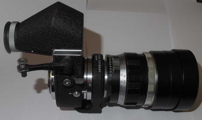 Leica Visoflex II and Telyt 4/200 telephoto lens - 1959/61