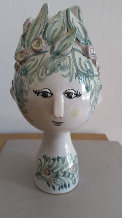 Bjørn Wiinblad - Head shaped vase