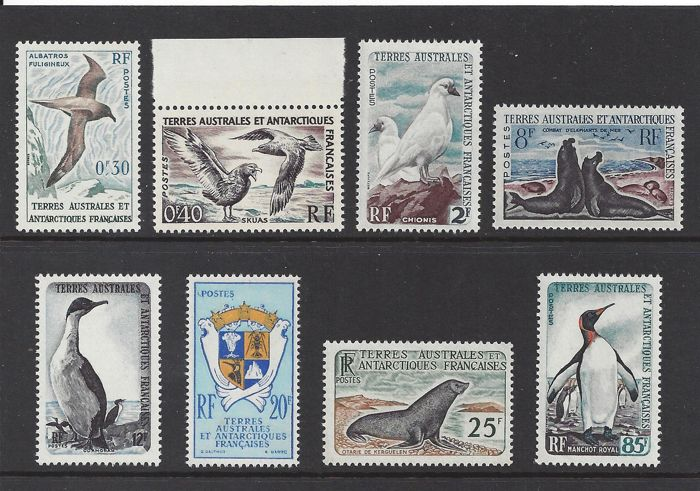 French Southern and Antarctic Lands 1959/1963 - motive