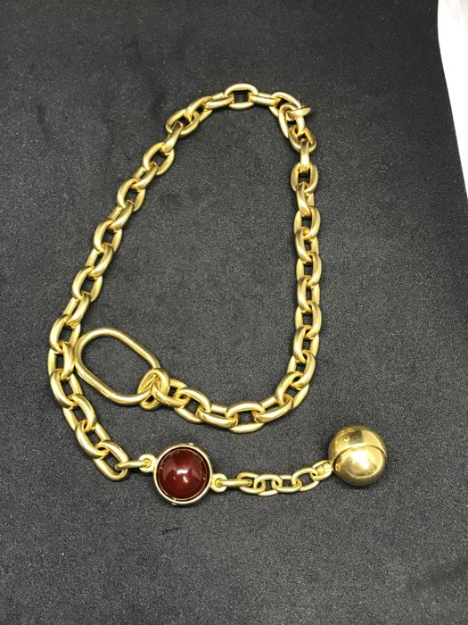 Pomellato gold necklace