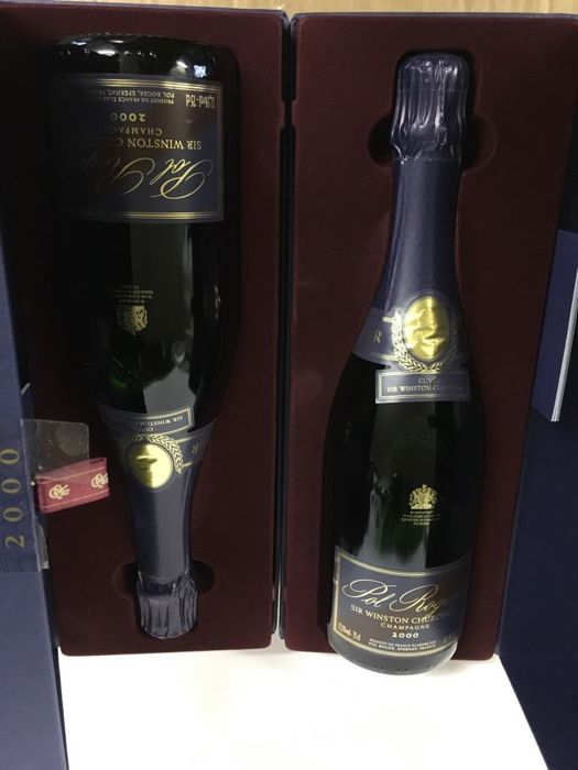 2000 Pol Roger Cuvee Sir Winston Churchill Brut, Champagne - 2 bottles (75cl) in original boxes