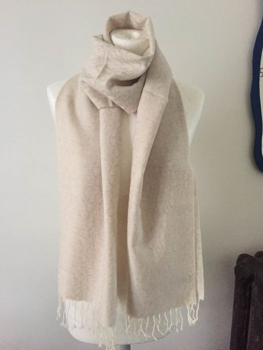 Aigner - Men's wool and cashmere scarf - No Reserve Price !!