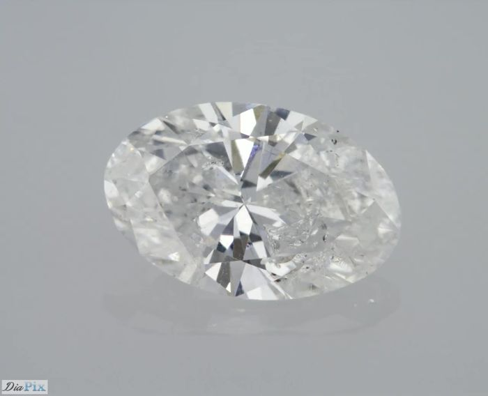 1.04 Carat D SI2 Oval Cut Certified & Sealed - Very Low Reserve!