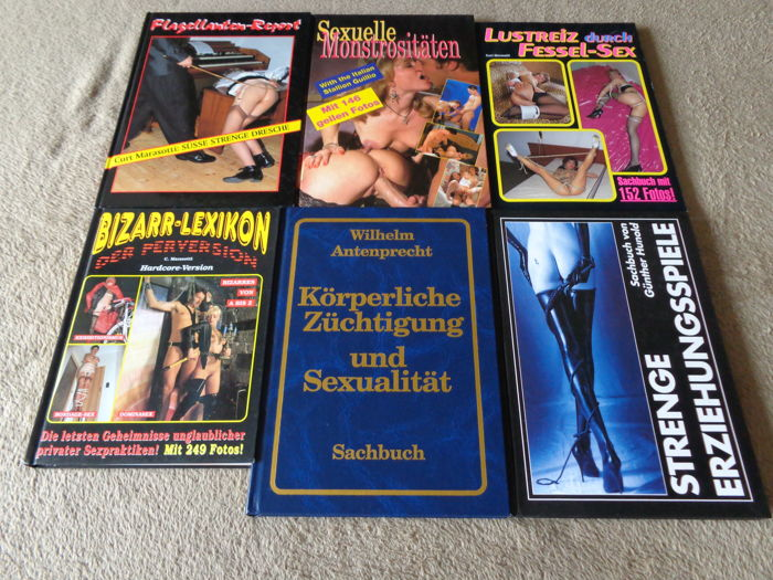 Kinky; Lot with 6 German hardcore pornography albums - 1994/1996