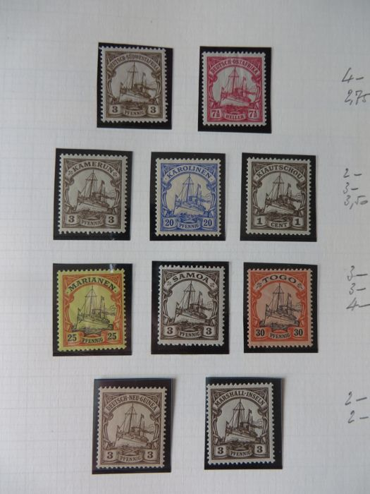 German Empire 1879/1948 - Collection with Kölonien