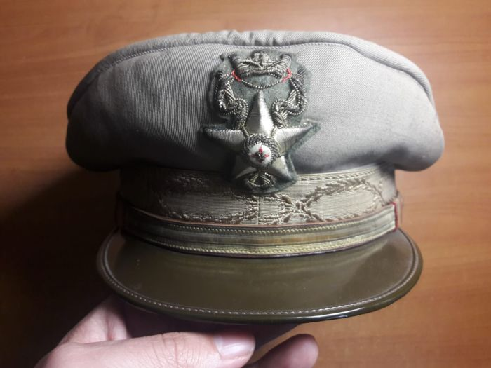 Red Cross marshal hat - 1925 (made in Bologna - La Fascistissima)