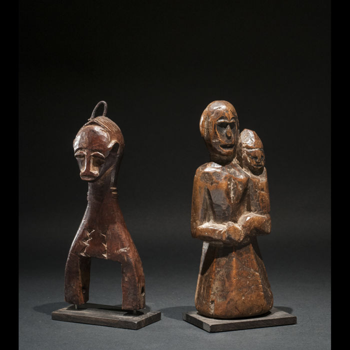 Lot of figurines - BAULE INDE - Ivory Coast