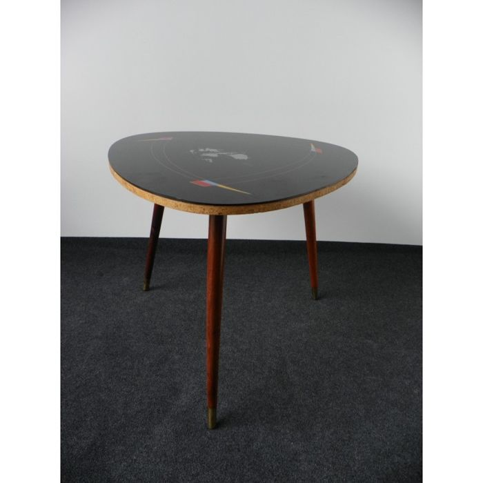 Unknown designed - Coffee table, glass table top